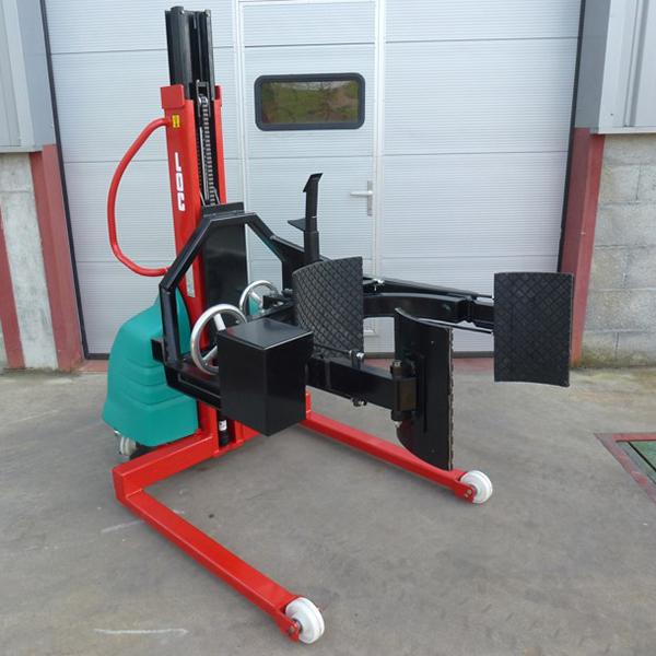 Chariot pour la prise de charge et solutions textile