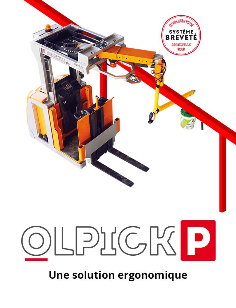 Olpick P – Une solution ergonomique