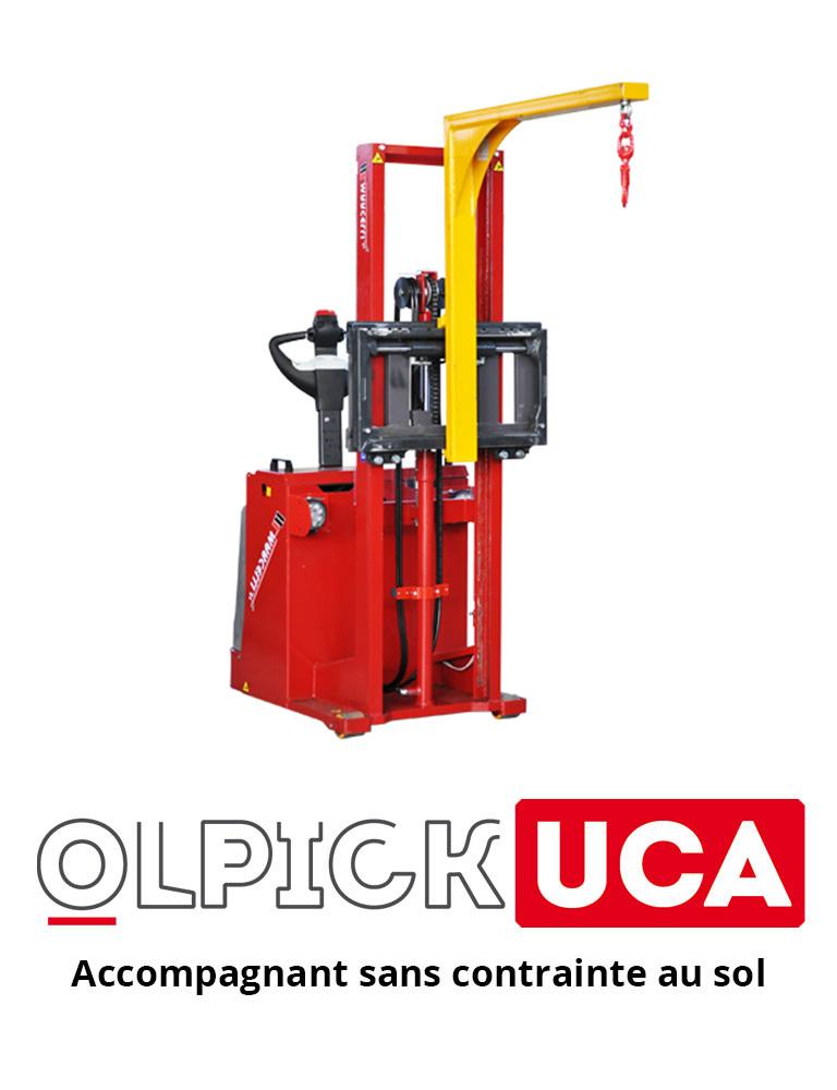 Olpick UCA, accompagnant sans contrainte au sol